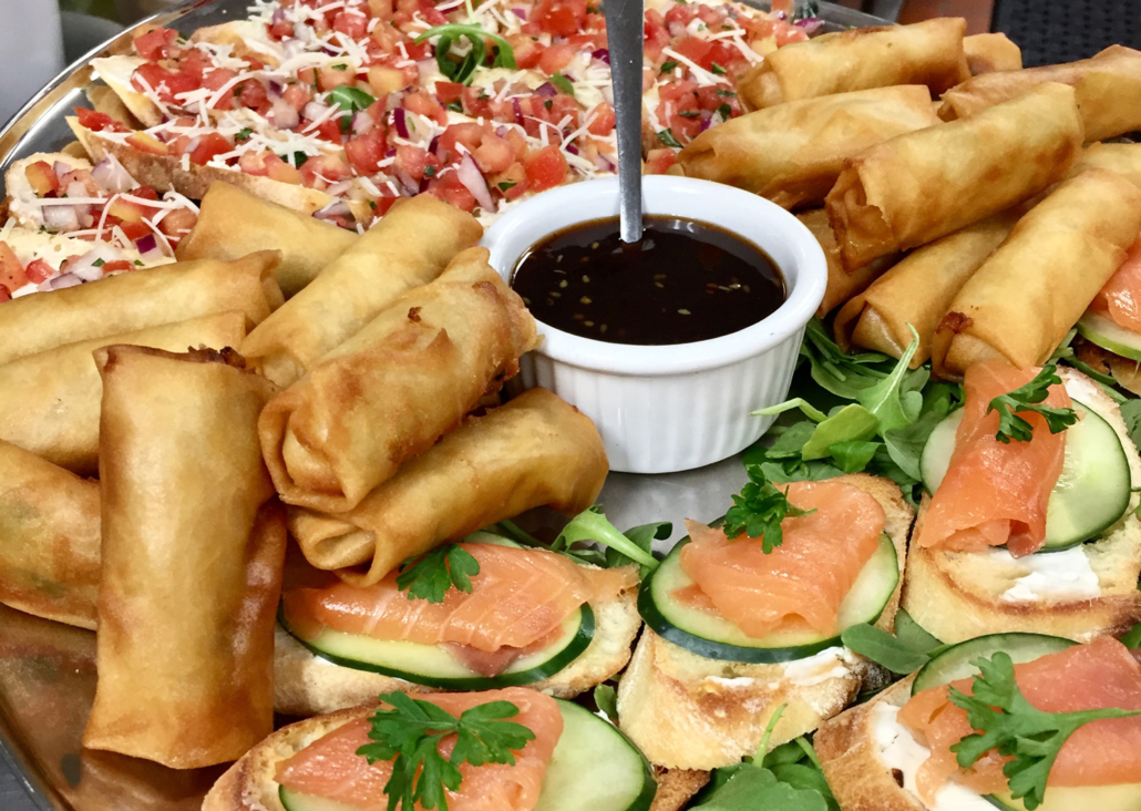Asian Spring rolls appetizers